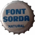 CORONA  agua FONT SARDA  33400 CROWN-CAPS*