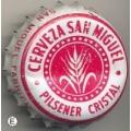 CORONA  cerveza ESPAÑA  SAN MIGUEL  08446  CROWN-CAPS